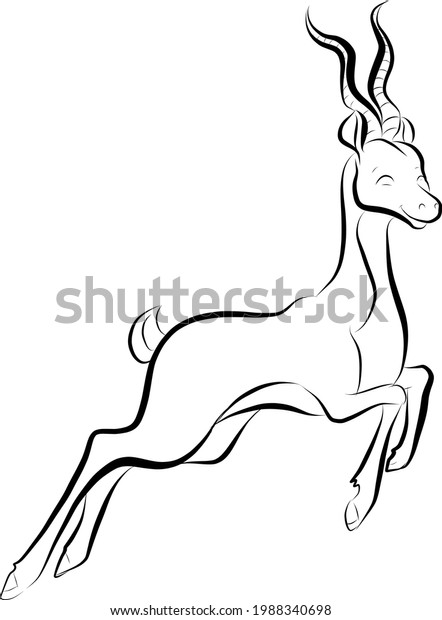 illustration-happy-jumping-antelope-600w