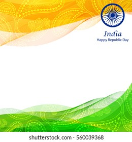 Republic Day Background Images Stock Photos Vectors Shutterstock If you want to download january republic day images so visit this link and download 26 january images photos friends, all of us do photo editing from our phone and we all know that whenever we do. https www shutterstock com image vector illustration happy republic day india background 560039368