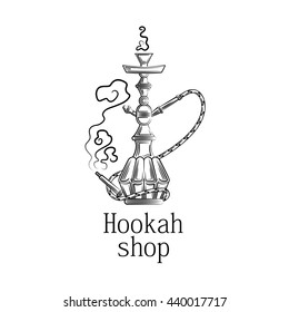 Illustration for hookah shop