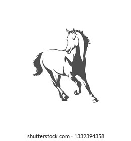 illustration of a horse for all needs