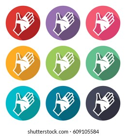 illustration icon for bandaged hand