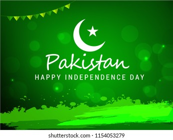 Illustration of Independence Day Of Pakistan.
