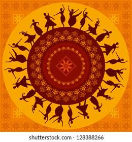 Indian Classical Dance Images Stock Photos Vectors Shutterstock