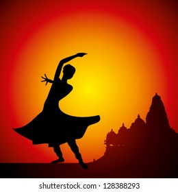 Indian Classical Dance Images Stock Photos Vectors Shutterstock