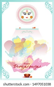 Puja Invitation Card Images Stock Photos Vectors