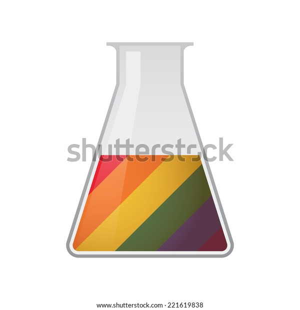Illustration Isolated Chemical Test Tube Gay Stock Vector ...