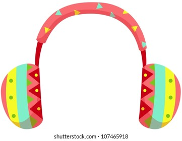 69957ff42c7420 illustration of isolated ear muff on white background