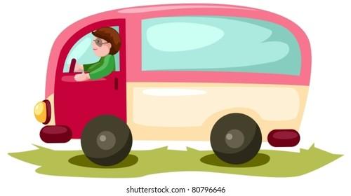 Cartoon Van Images Stock Photos Vectors Shutterstock
