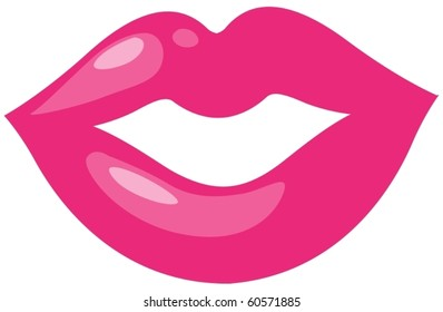 kiss lips clip art images stock photos vectors shutterstock rh shutterstock com smiling lips clip art free lips clip art free download
