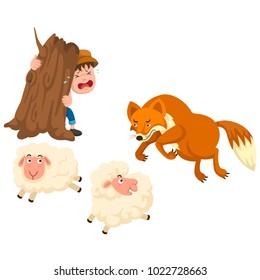Shepherd and Sheep Images, Stock Photos & Vectors   Shutterstock