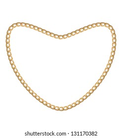 gold necklace images stock photos vectors shutterstock