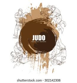 Illustration of Judo.