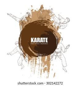 Illustration of Karate.