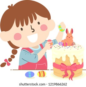Decorates A Cake Stock Photos People Images Shutterstock