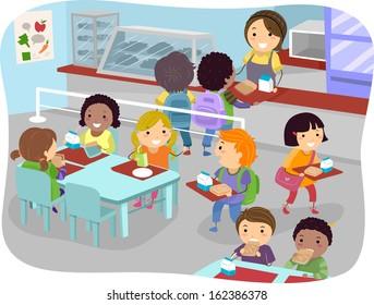 Ilustraciones, imágenes y vectores de stock sobre Students in a ...