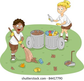 Boy Sweeping Images, Stock Photos & Vectors | Shutterstock