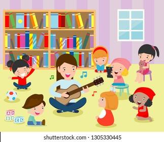 classroom cartoon Images, Stock Photos & Vectors ...