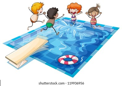 Pool Cartoon Stock Images Royalty Free Images Vectors Shutterstock