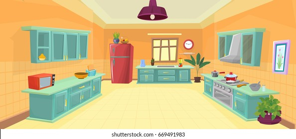 Royalty Free Cartoon Kitchen Stock Images Photos Vectors