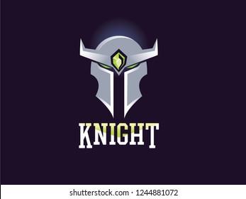 illustration knight logo
