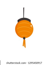 a illustration of lampion for celebrating chinese new year