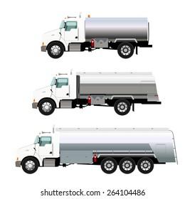Illustration of Light Fuel trucks