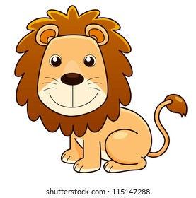 cartoon lion images stock photos vectors shutterstock rh shutterstock com pictures of cartoon lions with pink mains pictures of animated lions