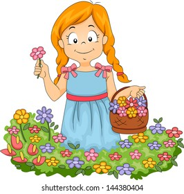 Flower Cartoon Images, Stock Photos & Vectors | Shutterstock