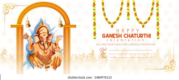 Royalty Free Ganpati Invite Stock Images Photos Vectors