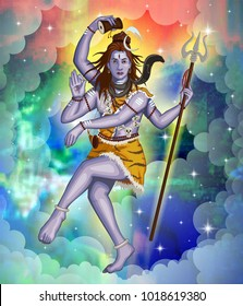 illustration of lord shiva for mahashivratri festival india