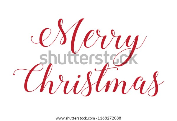 An Illustration of  Merry Christmas