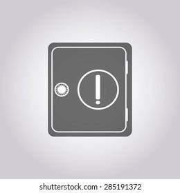 illustration of modern icon lock