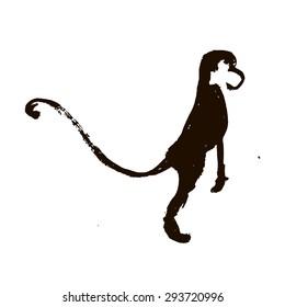 Illustration monkey