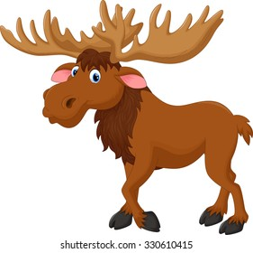 moose cartoon images stock photos vectors shutterstock rh shutterstock com funny cartoon moose pictures funny cartoon moose pictures