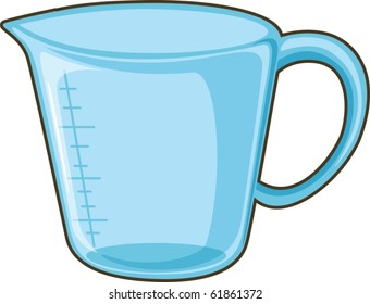 illustration of mug on a white background