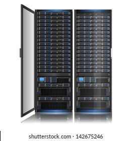 Illustration of network server, EPS 8