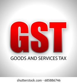 Illustration on GST (Goods and Services tax).
