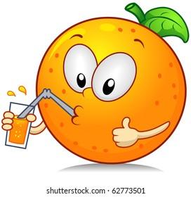 Cartoon Orange Images Stock Photos Vectors Shutterstock