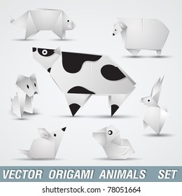 Origami Pig Images, Stock Photos & Vectors | Shutterstock
