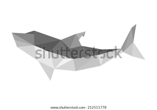 Origami Shark | designed and folded by me tutorial - www.you… | Flickr | 421x600
