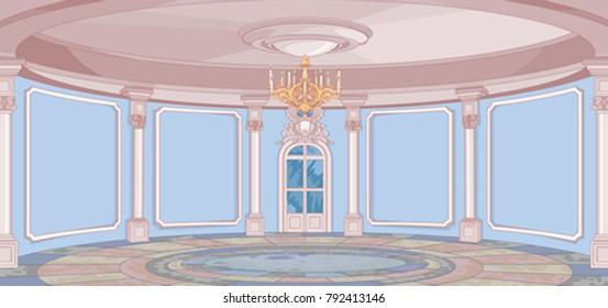 Illustration of Palace hall
