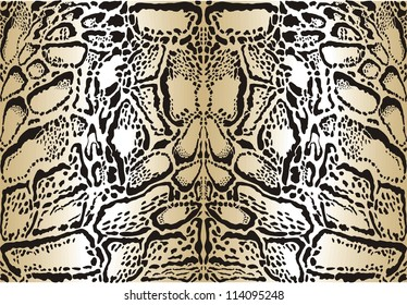 illustration pattern background skins clouded leopard
