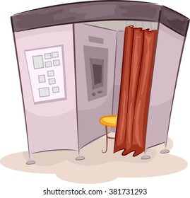 Illustration of a Photo Booth