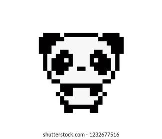 Pixel Panda Images Stock Photos Vectors Shutterstock