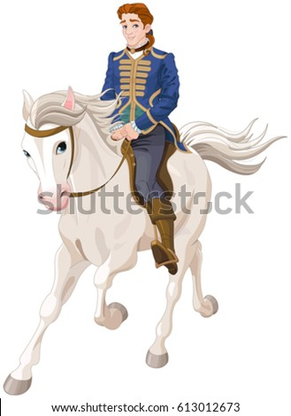 Illustration of Prince Charming