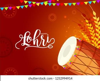 Royalty Free Lohri Invitation Card Stock Images Photos Vectors