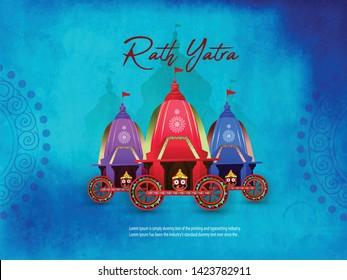 illustration of Ratha Yatra of Lord Jagannath,