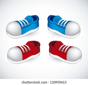 Cartoon Tennis Shoes High Res Stock Images Shutterstock