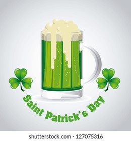 illustration of Saint Patrick's Day, celebration of holiday, vector illustration