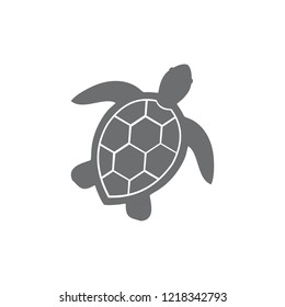 illustration of sea turtle icon